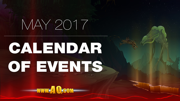 May Events in AQWorlds