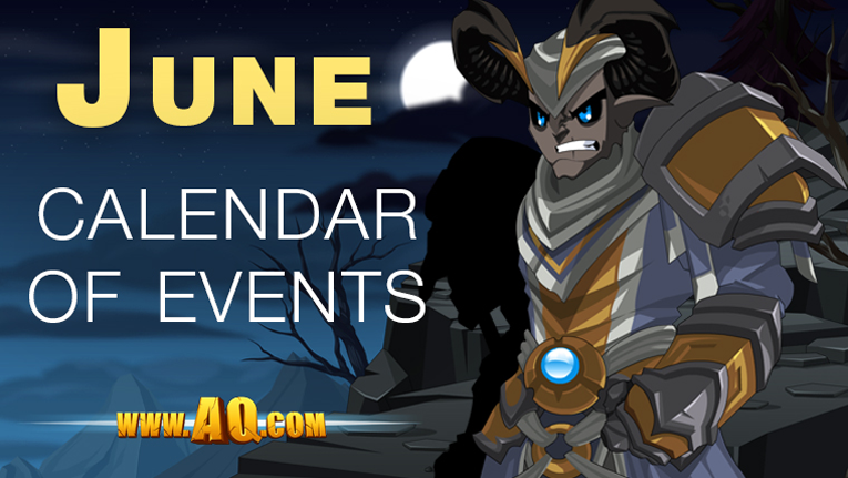 June Events in AQWorlds