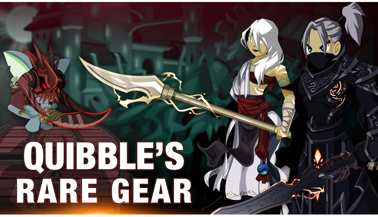 Quibble's Rare Gear