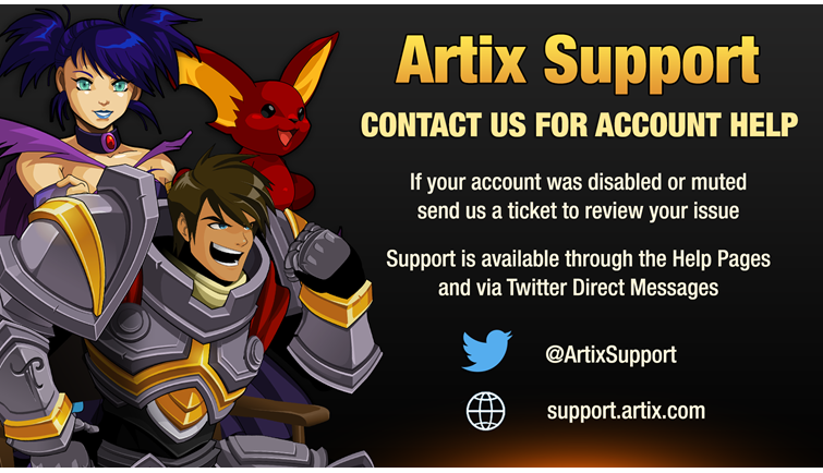 Artix Support Update July 2018