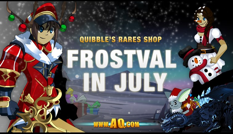 Quibble Rares July