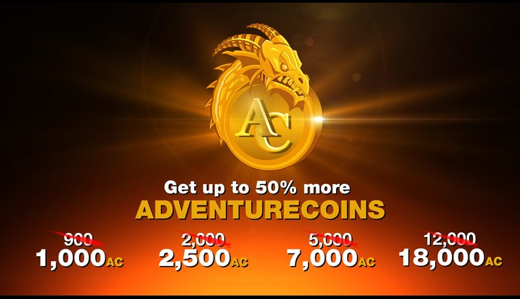 Summer AdventureCoin Bonus Sale