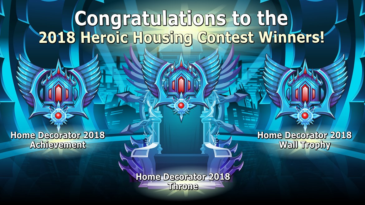 Heroic Housing Winners!
