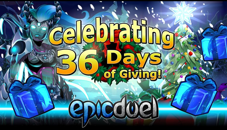 36 Days of Giving