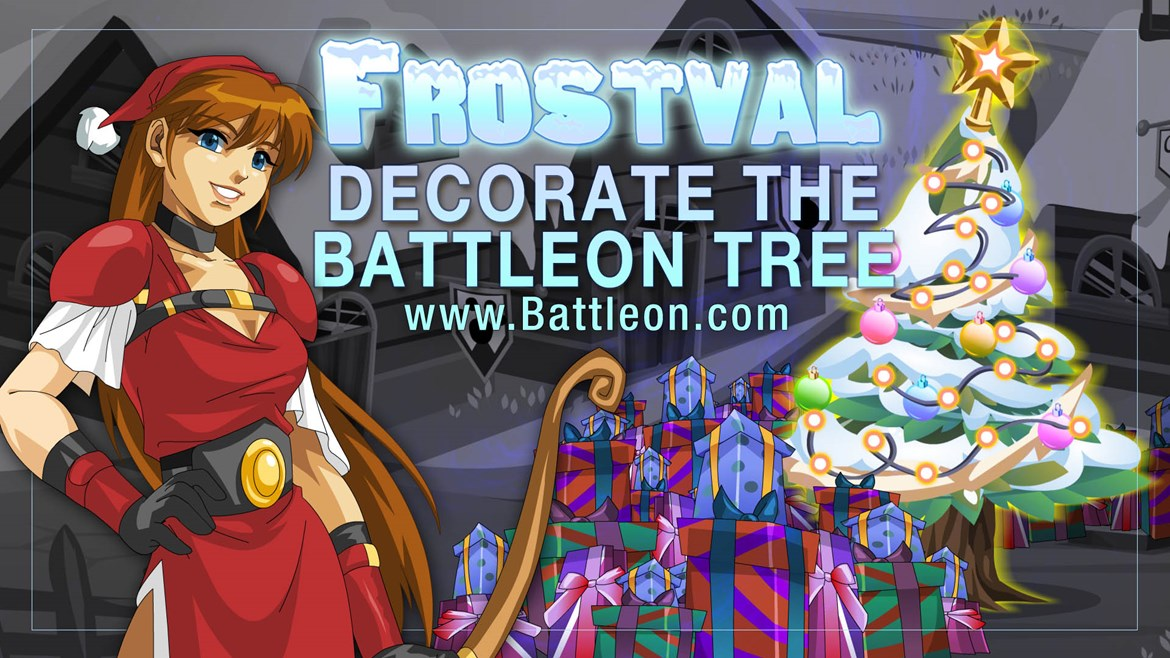 Decorate the BattleOn Tree