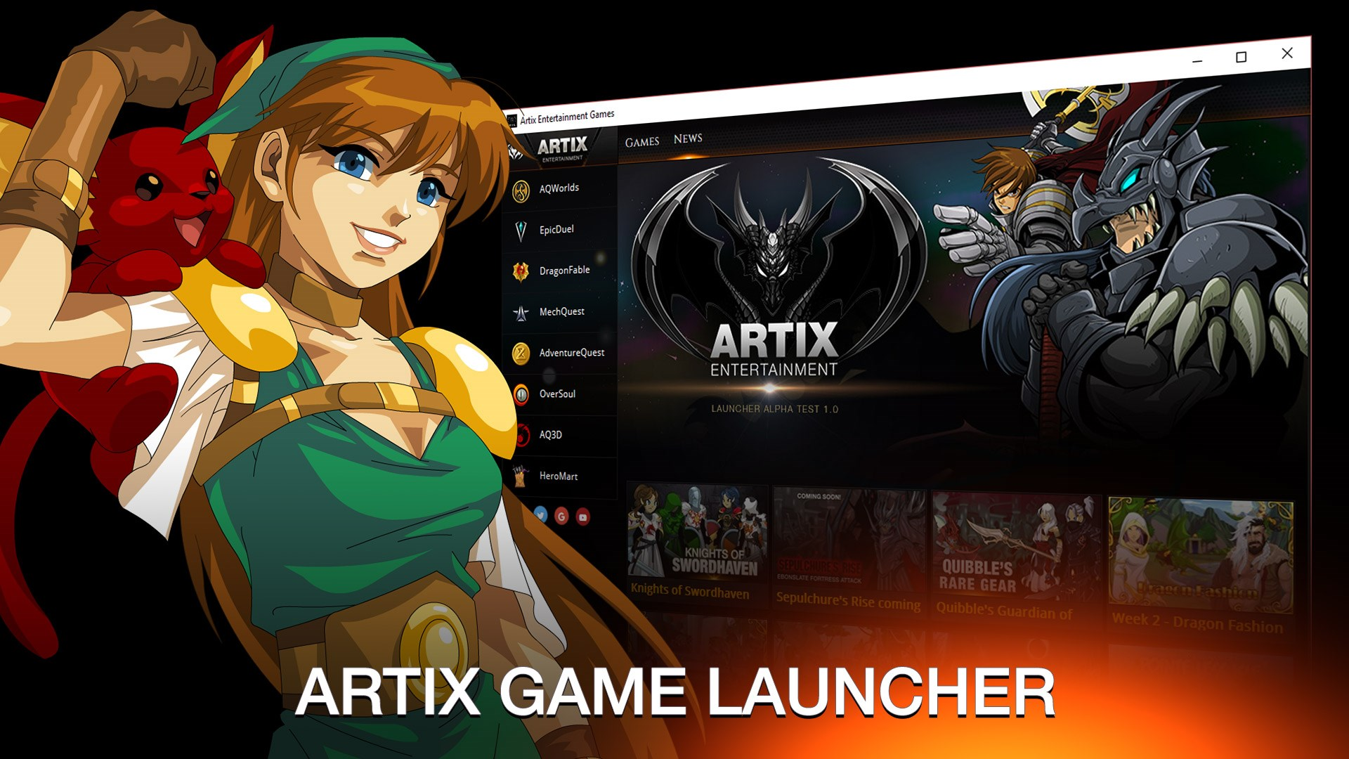 Get The Artix Game Launcher