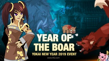 Yokai New Year Celebration