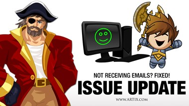 Email Issue Update Feb