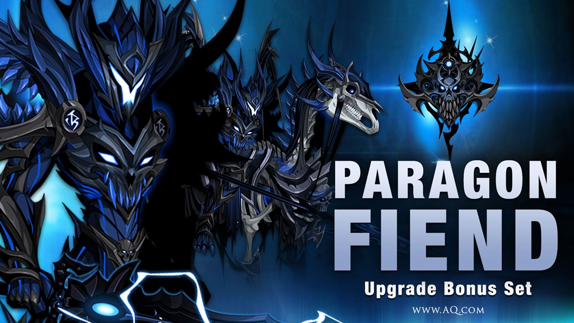 Become a Paragon Fiend