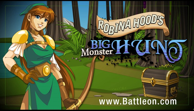 Robina Hood's Big Monster Hunt