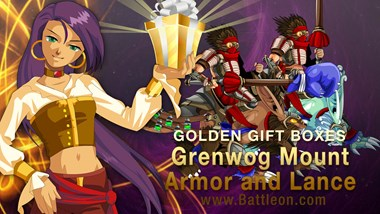 April Golden Giftboxes