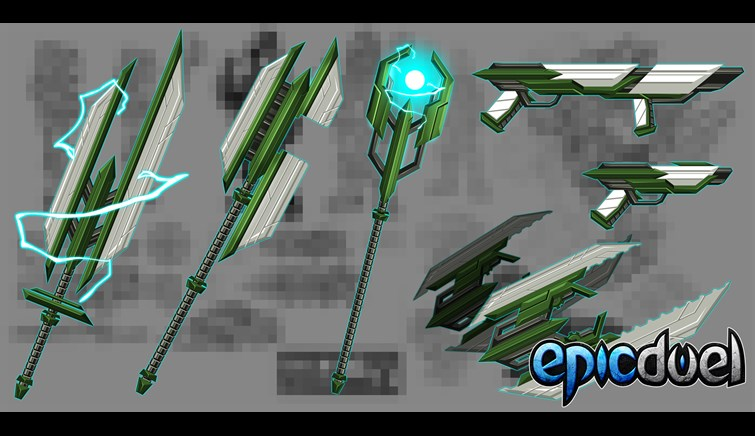 Charfade Weapon Preview