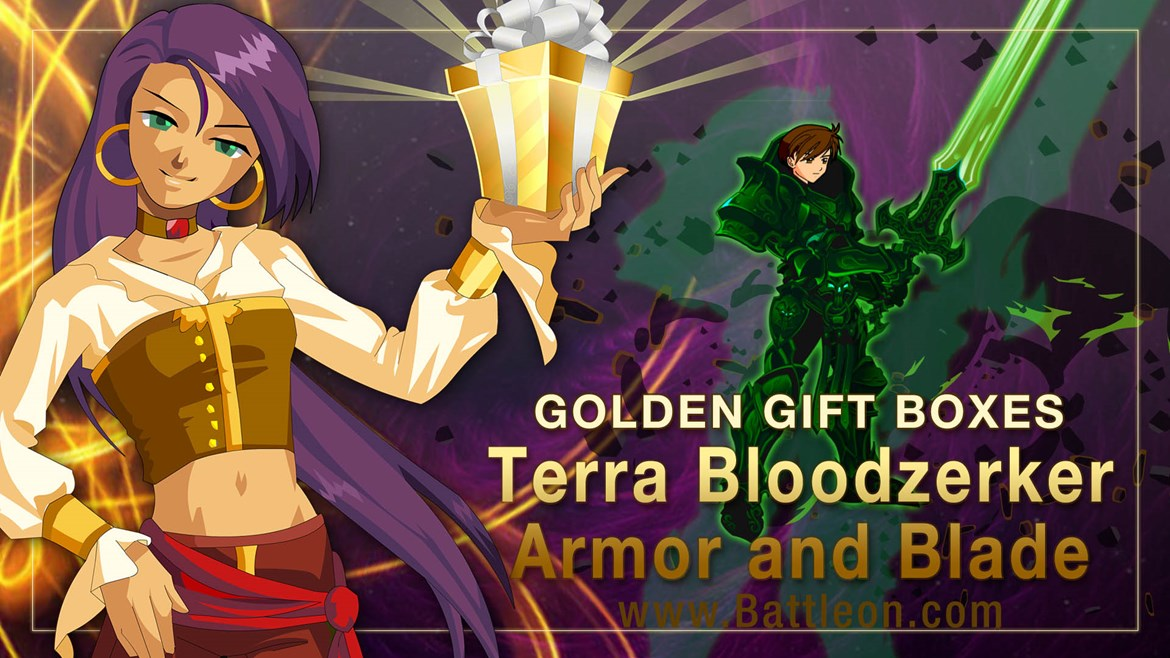 Terra Bloodzerker and Mogsterio Golden Giftboxes