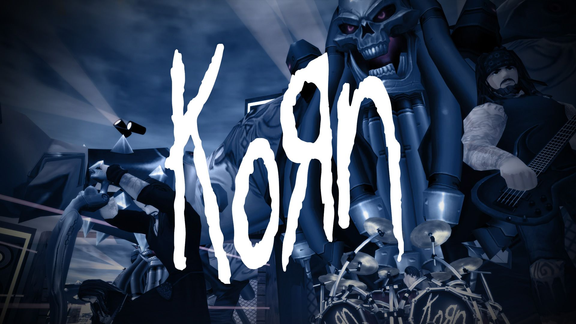 Korn as video game characters