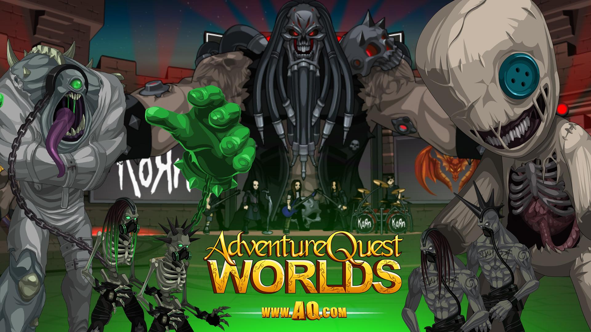 Korn Battle Concert In Adventurequest 3d