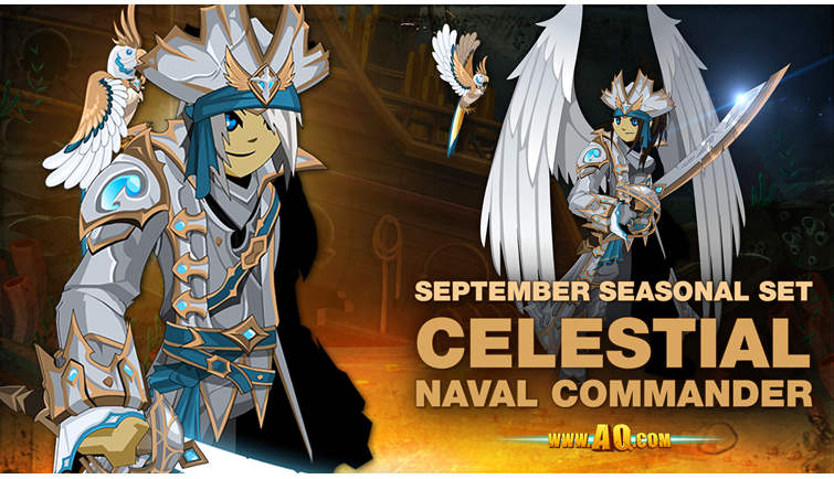 September Set: Celestial Naval Commander