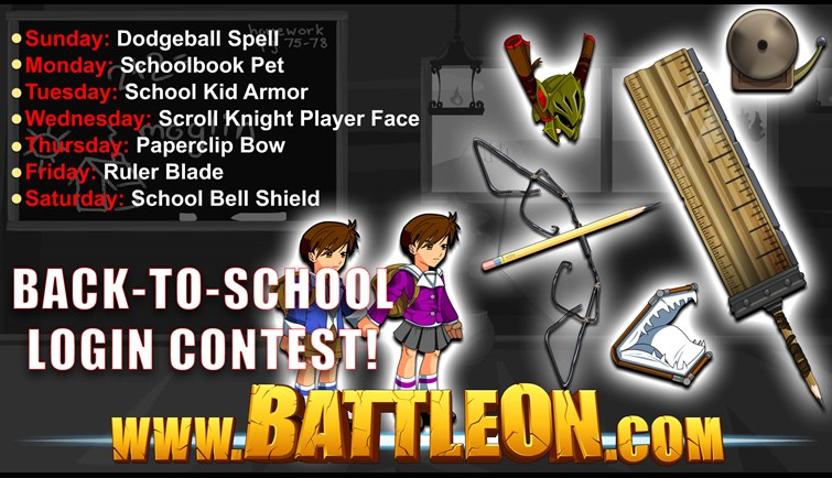 Back-To-School Contest