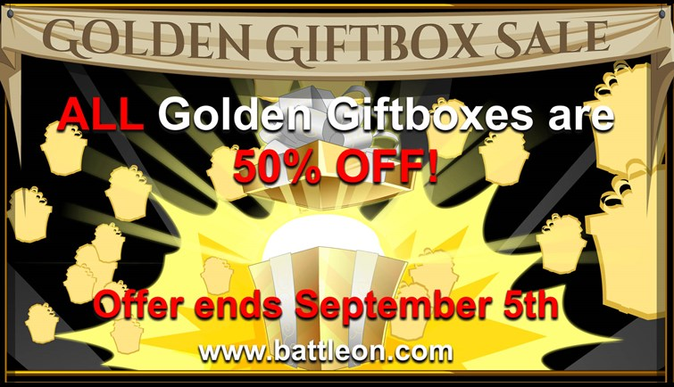 Golden Giftbox Sale Extended