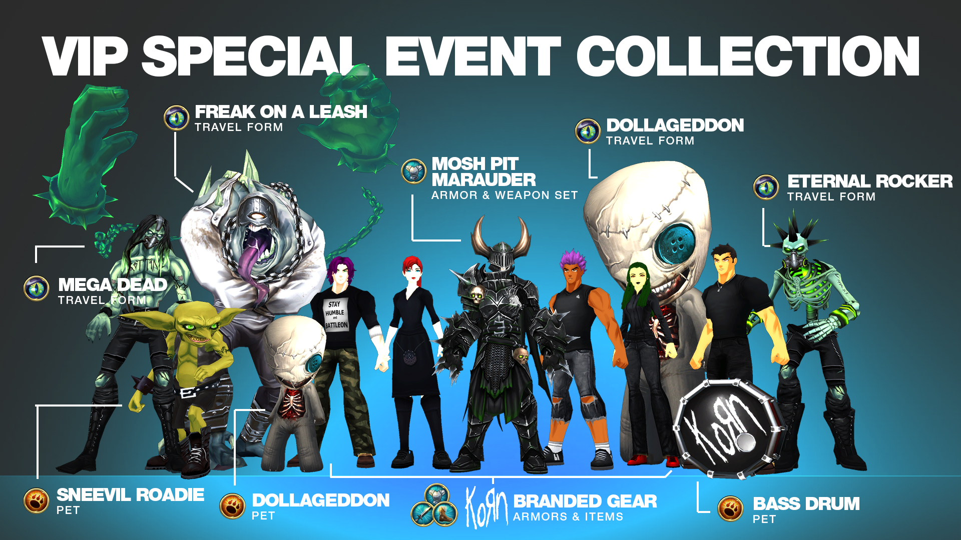 VIP Special Event Collection