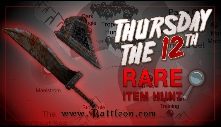 Thursday the 12th Rare Item Hunt