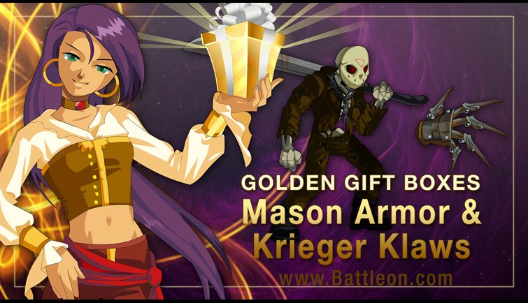 Thursday the 12th Golden Giftboxes