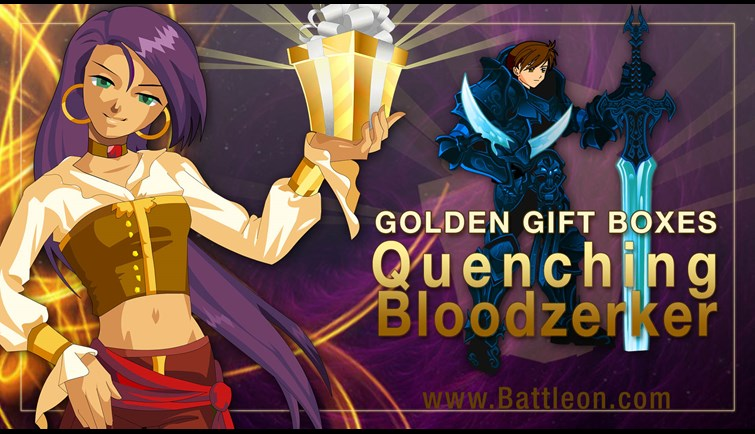 Bloodzerker Golden Giftboxes