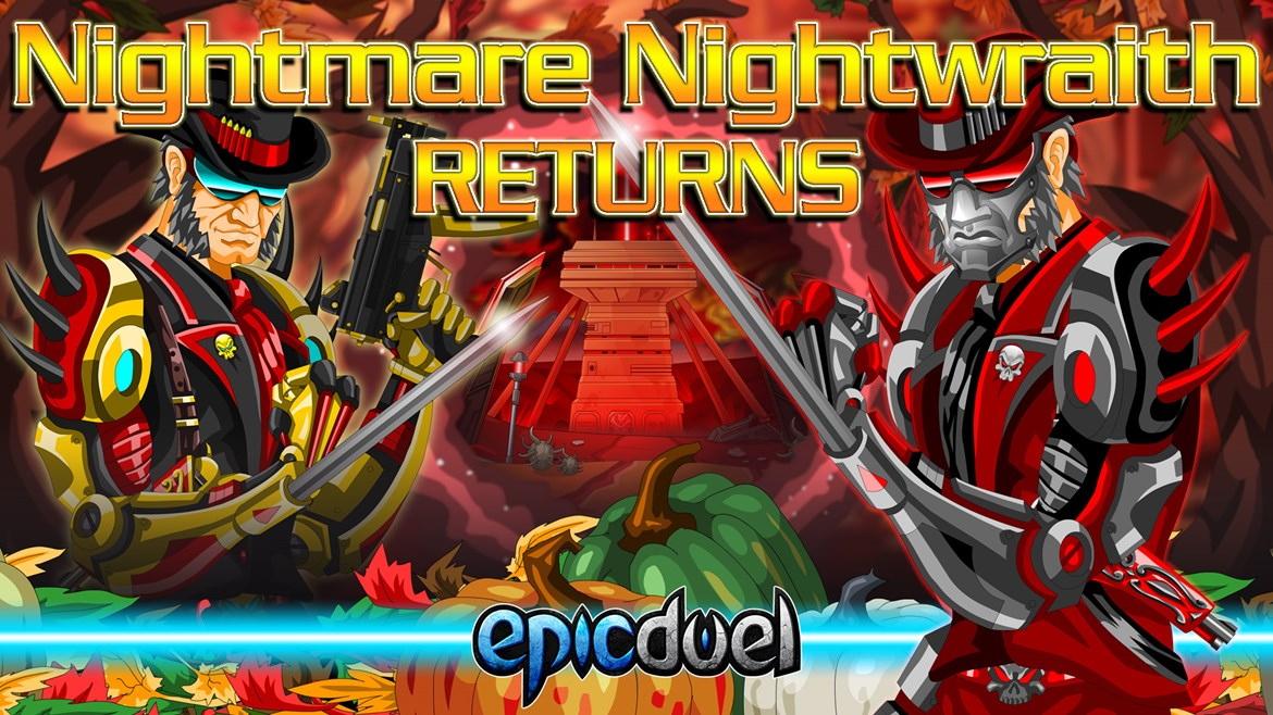 Nightmare Nightwraith Returns!