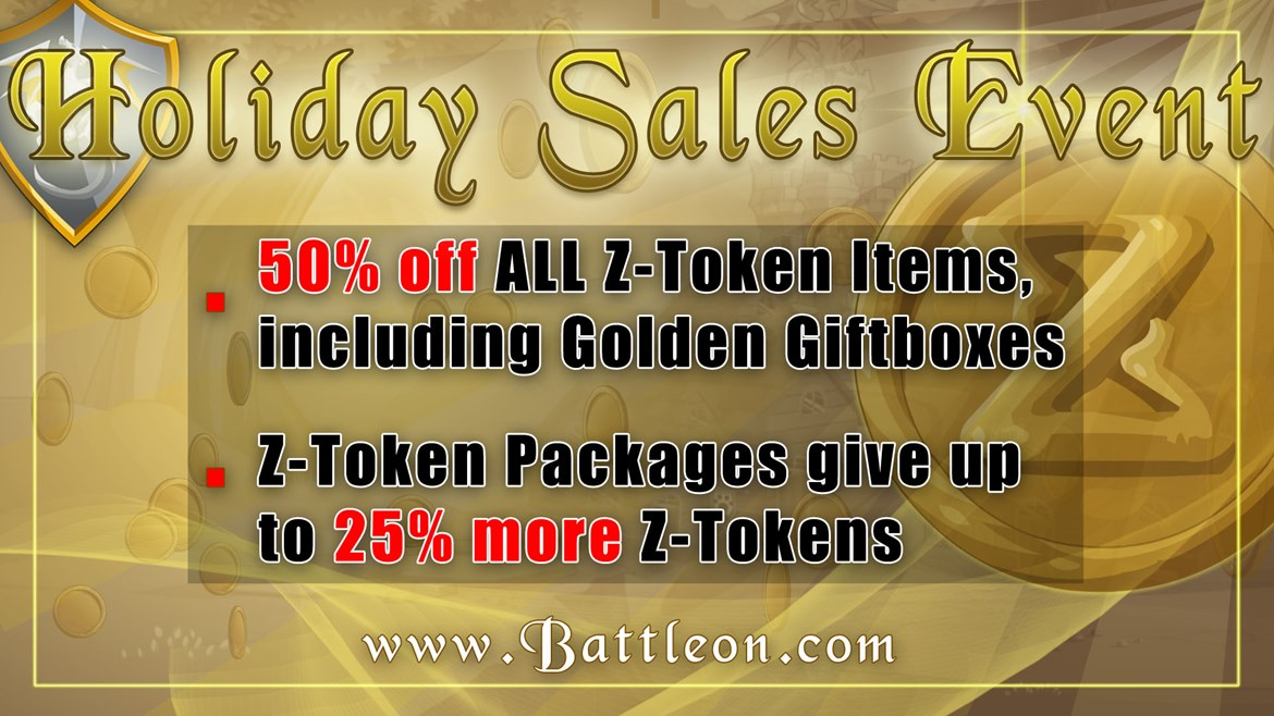 Mega Holiday Sales Event