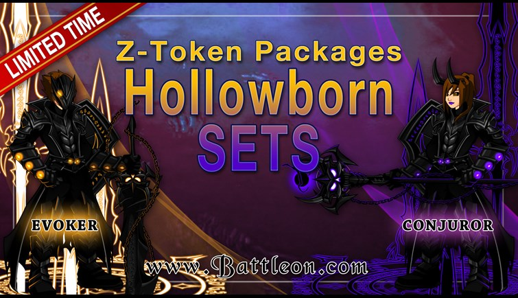 Hollowborn Z-Token Package Bonuses
