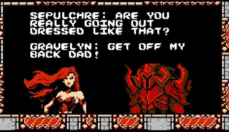 8-Bit Gravelyn and Sepulchure for the NES