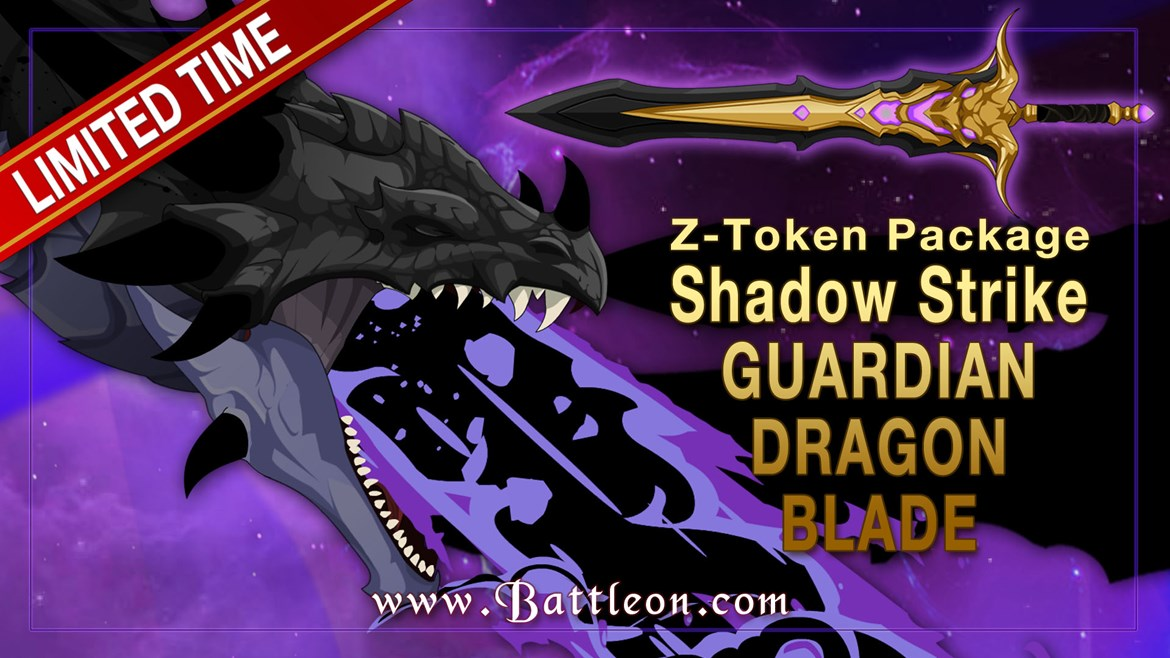 Shadow Strike Guardian Dragon Z-Token Package Bonus
