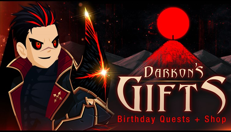 Darkon Birthday AQW 2020