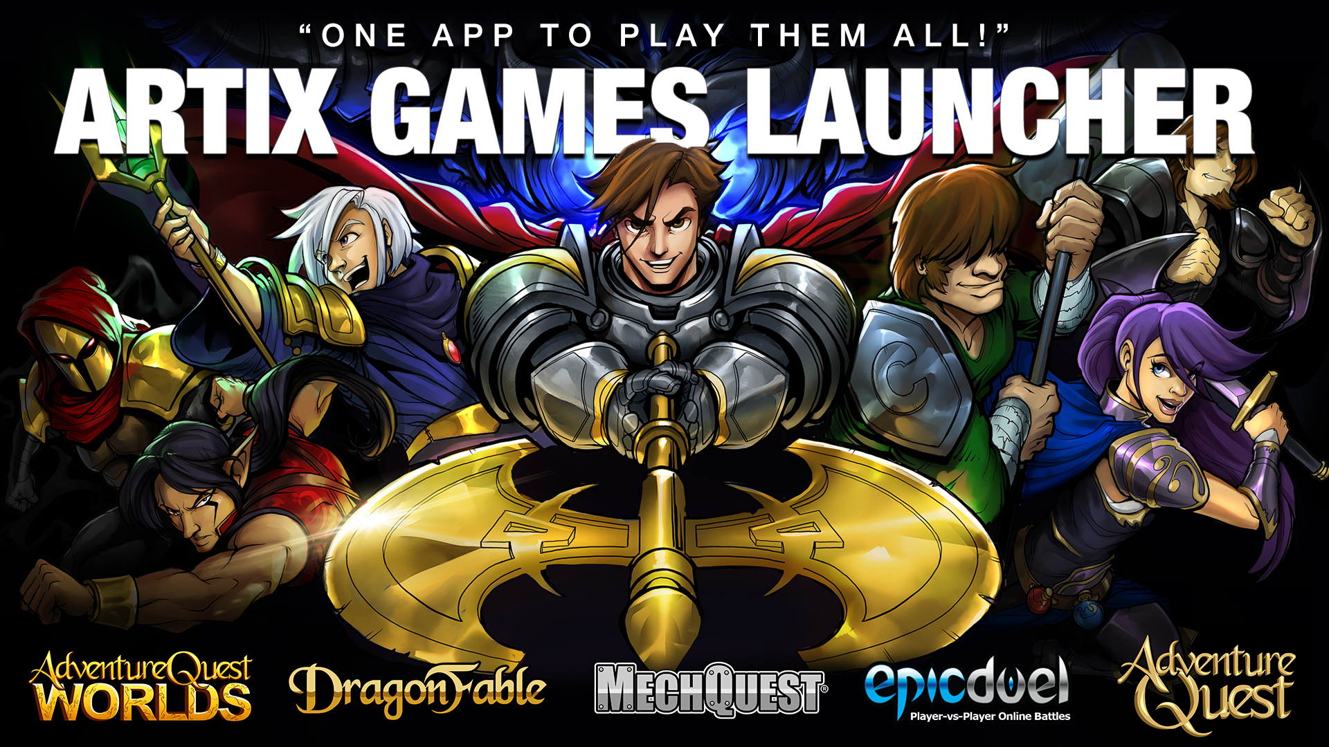 Play using the Artix Games Launcher