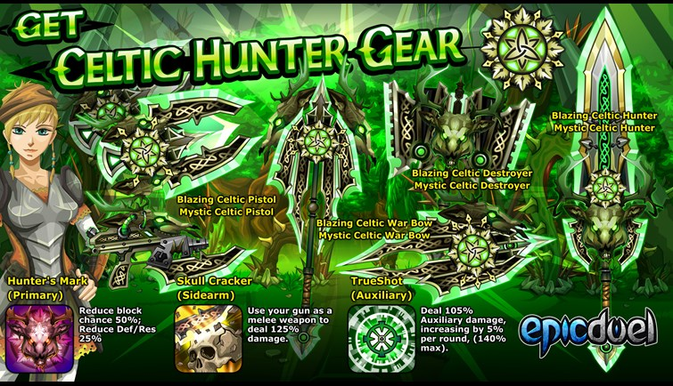 Celtic Hunter Gear