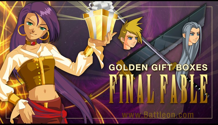 April Final Fable Golden Giftboxes