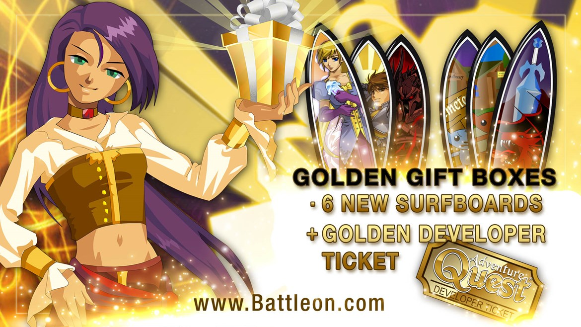 June Golden Giftboxes