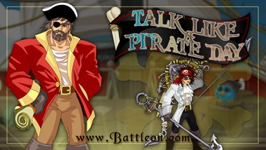 Talk Like a Pirate Day 2020 Event