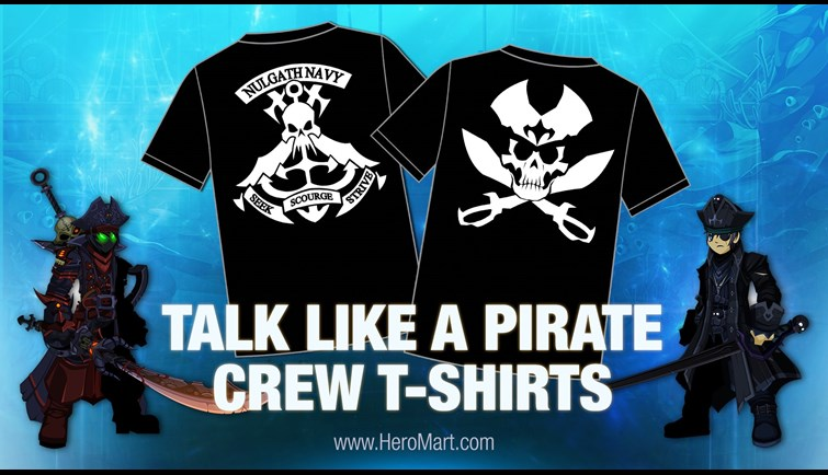 Pirate Shirts are Back