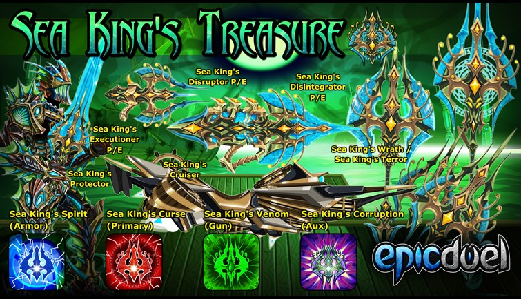 The Sea King's Treasure