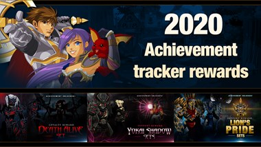 2020 Achievement Tracker Rewards