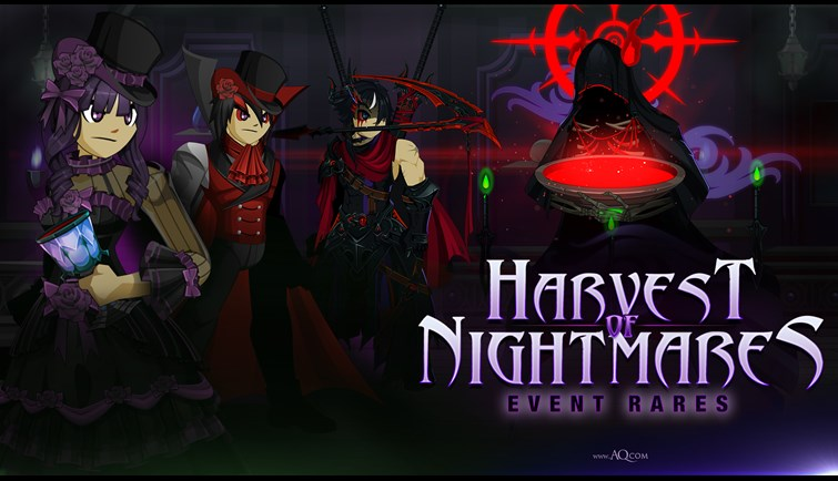 Harvest of Nightmares 2020 Rares