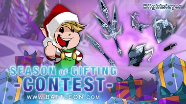 Frostval 2020 Season of Gifting Contest