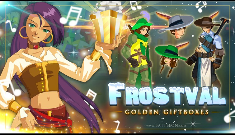 Frostval 2020 Golden Giftboxes