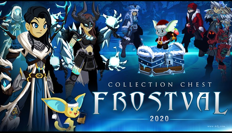 Frostval 2020 Collection AQW