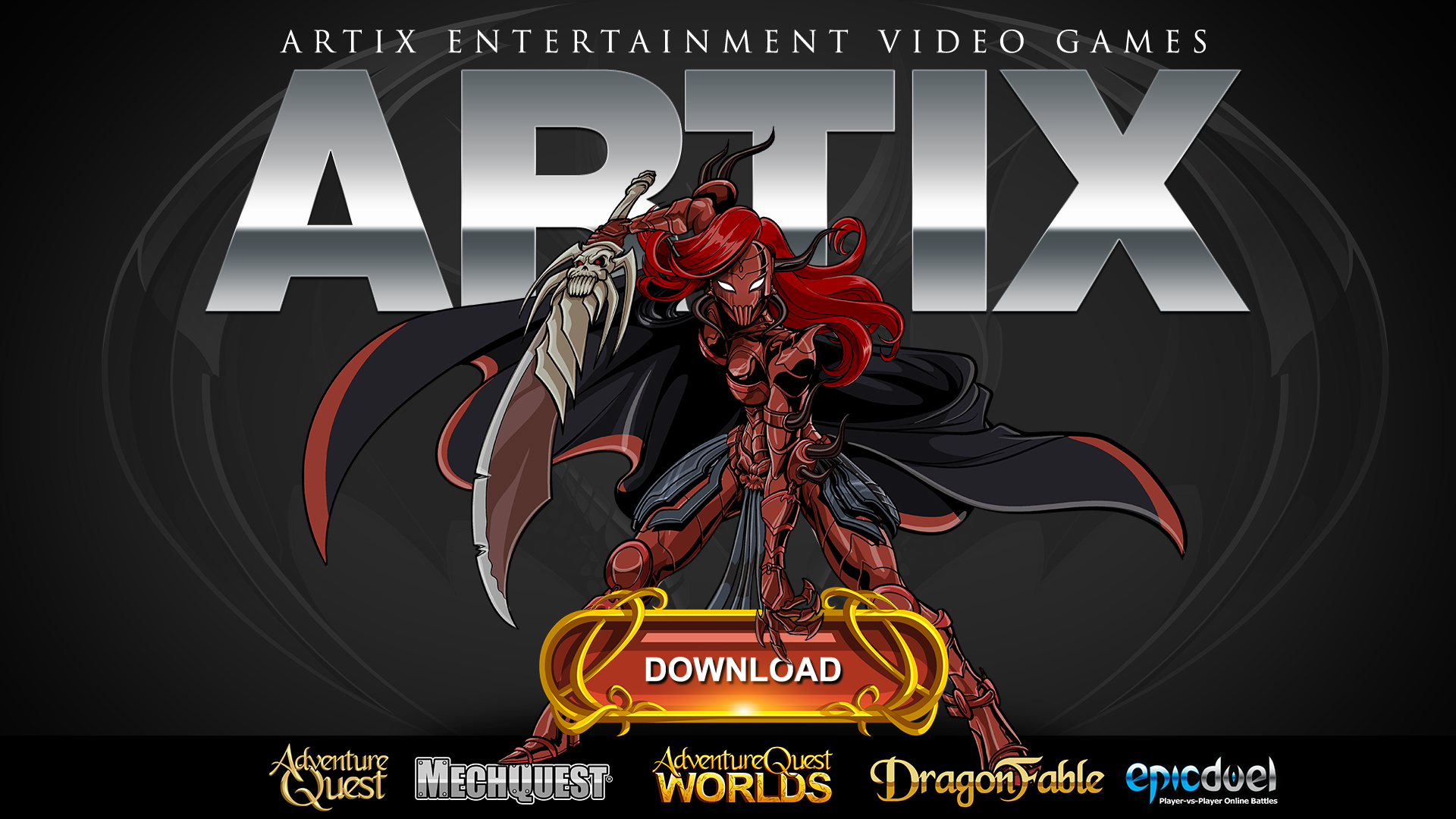 Get the Artix Games Launcher