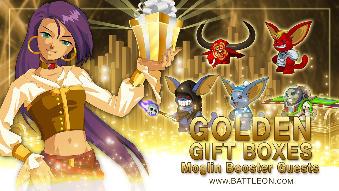 Golden Giftbox Booster Guests
