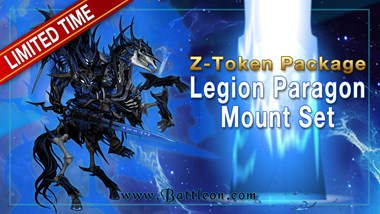 Returning Legion Z-Token Packages