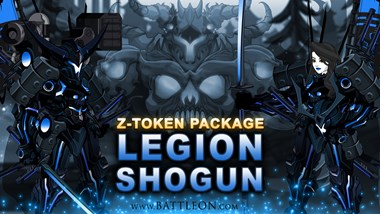 Legion Shogun Set 50K Z-Token Package