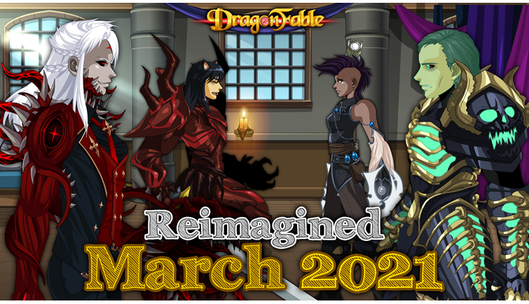 Reimagined: March 2021