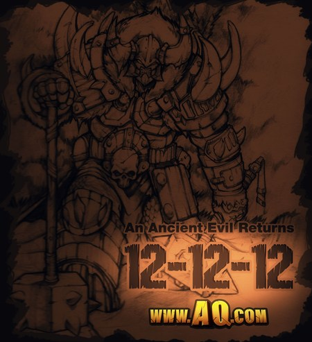 12-12-12 AQWorlds Ancient Evil Returns